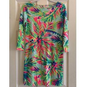 Lilly Pulitzer 3/4 Sleeve Shirt Dress